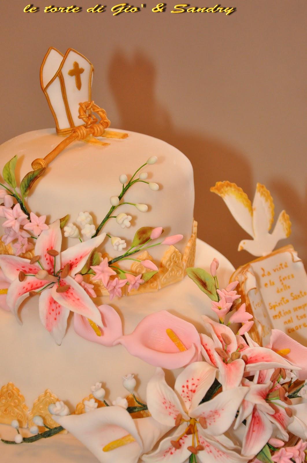 La dolce rosa di monte cresima - Decorazioni per cresima ...