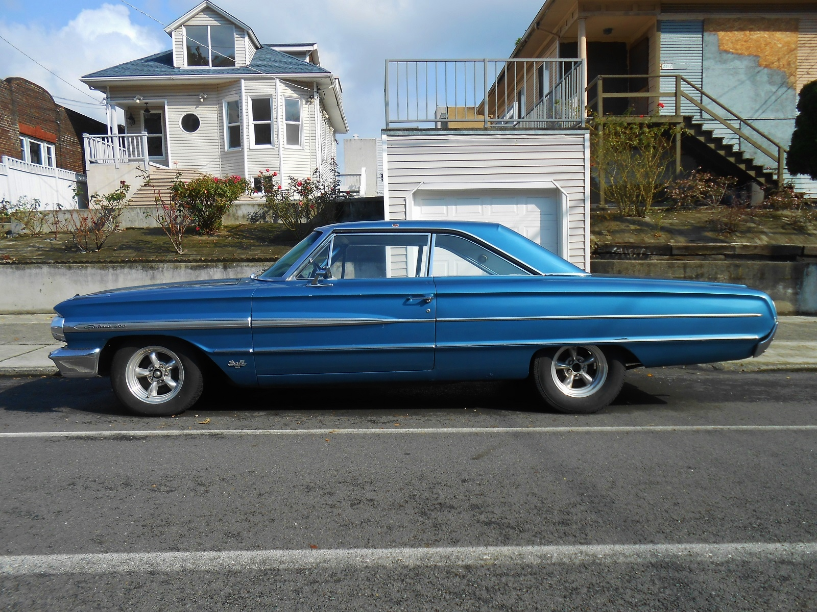 seattle 39 s parked cars 1964 ford galaxie 500. Cars Review. Best American Auto & Cars Review