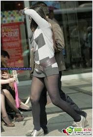 Cewek Ini Pake Celana Tapi Gak Niat Pake Celananya [ www.BlogApaAja.com ]