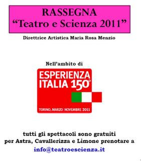 teatro e scienza