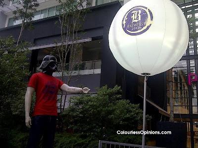 Brewfest 2012 Publika Malaysia Darth Vader