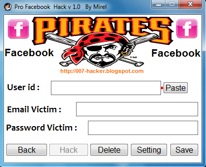 pro facebook hack v 1.0 by mirel