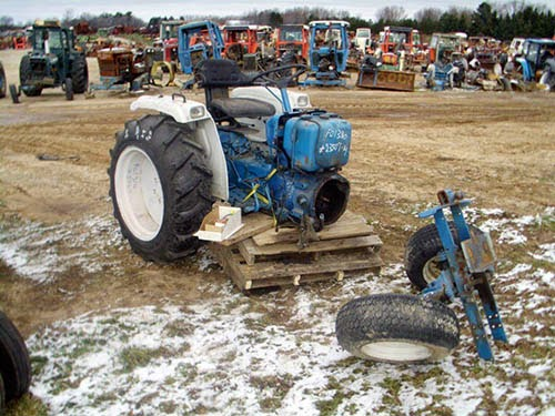 Ford 13010 tractor parts