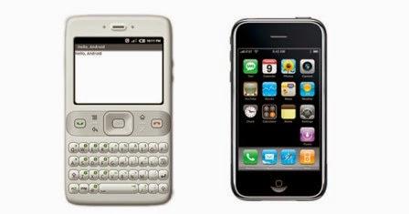 Fakta: sebelum iPhone diumumkan Android tidak mendukung touchscreen