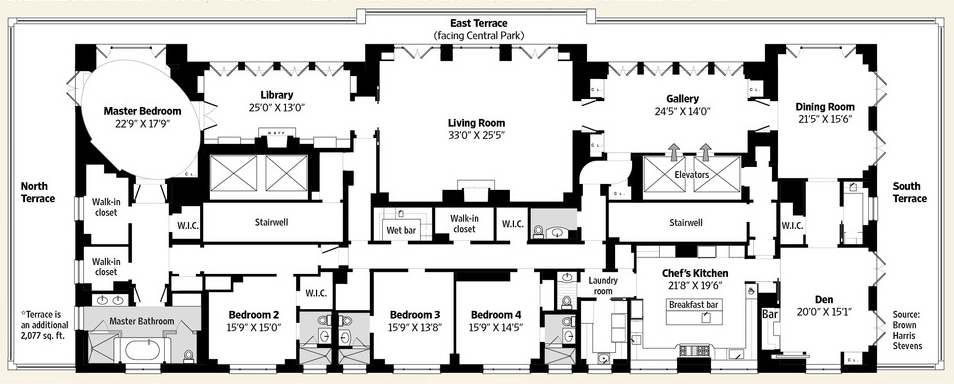 Penthouse Floor Plans