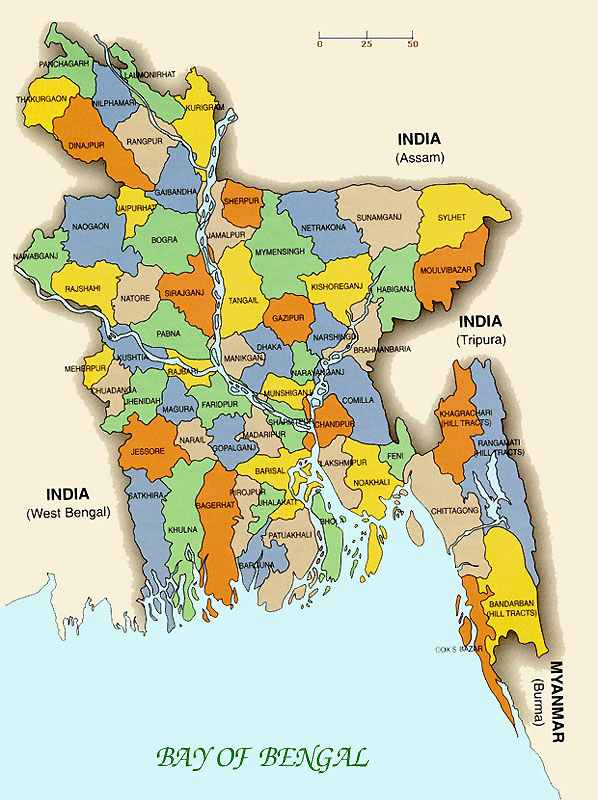 Maps of bangladesh district maps of bangladesh divisional maps it is the worlds largest delta located around the river ganges brahmaputra from the world atlas bangladesh is gumiabroncs Image collections