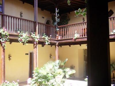 Salas, palacio de Valdés Salas, interior