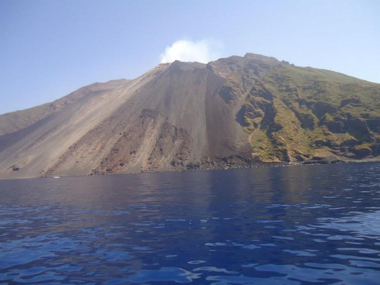Volcano at Stromboli