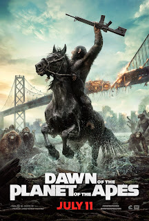 dawn of the planet of the apes new poster 1