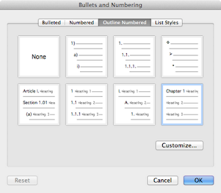 numbering menu 1