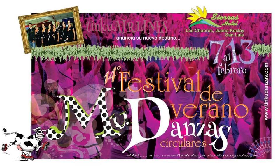 Festival de Verano 2015 de Danzas Circulares Sagradas (Danzas Circulares del Mundo)
