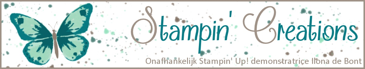 Stampin Creations van Ilona