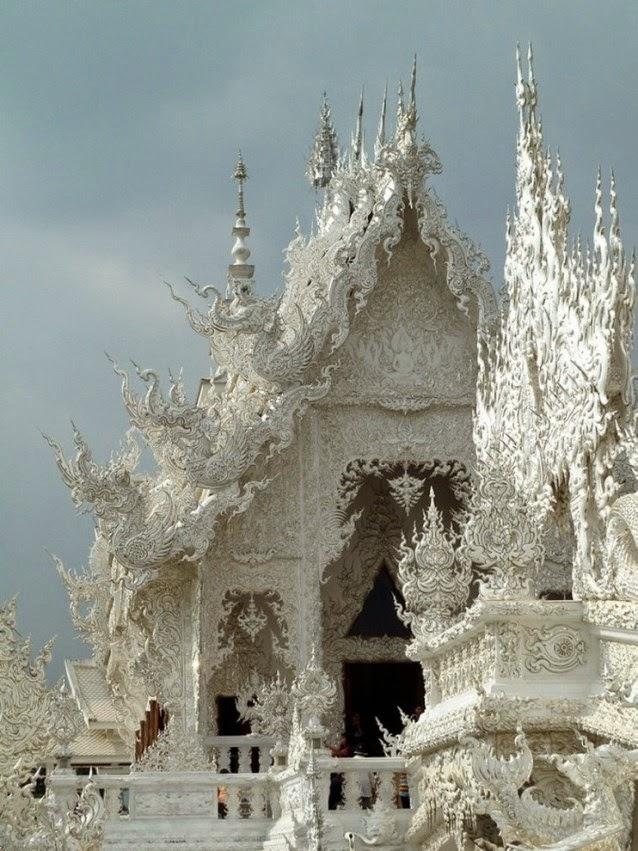 Wat Rong Khun - Templo Blanco de Tailandia