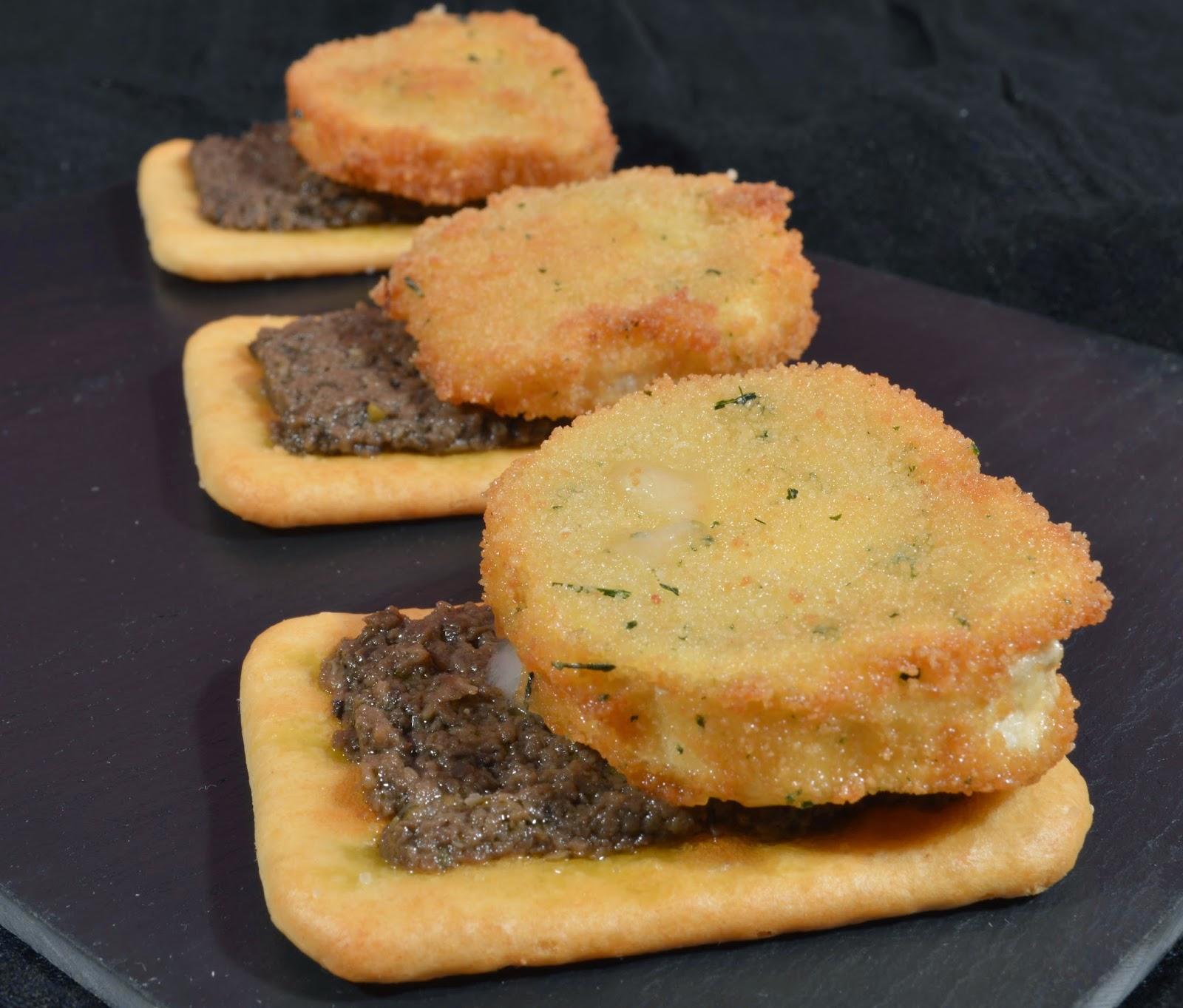 recetas de tapas con queso de rulo de cabra