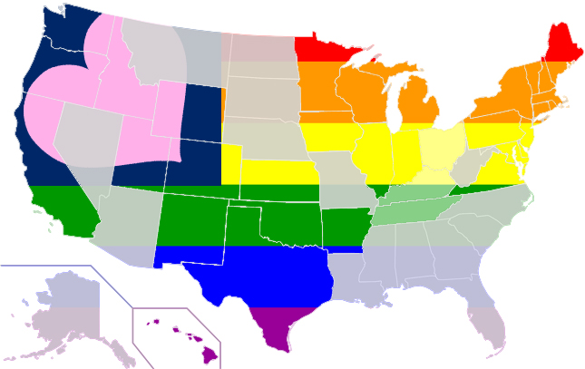 Marriage Map June 2014