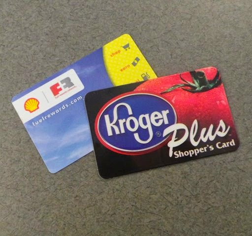i keep both my kroger and my shell fuel rewards cards close in my wallet - Shell Gas Rewards Card