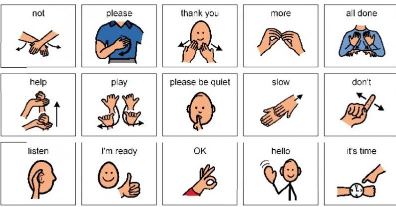 Teaching Non Verbal Children To on Classroom Please And Thank You Printable Preschool Worksheets