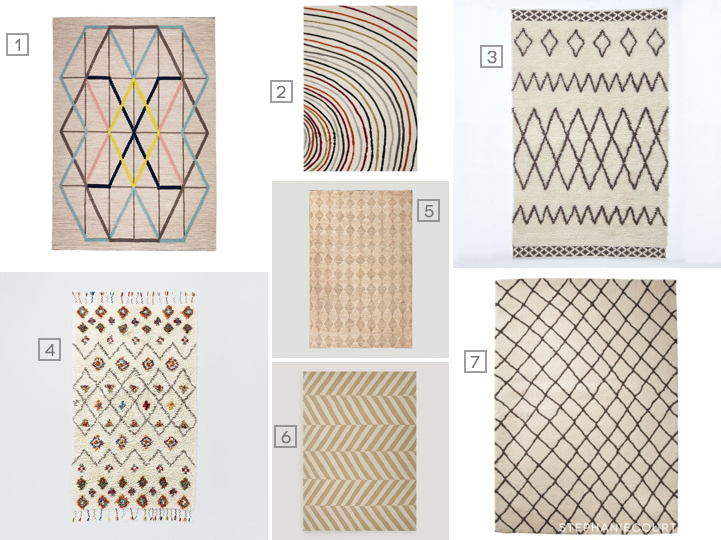 """neutral living room area rugs"""