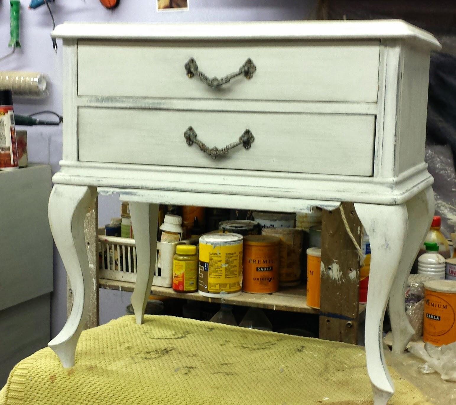 Candini muebles pintados nuevos y redecorados inunda - Restauracion de muebles barcelona ...