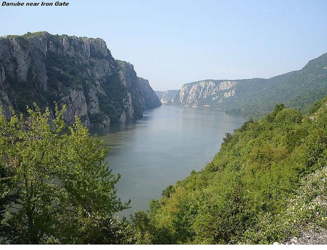 Danube River near Iron Gate
