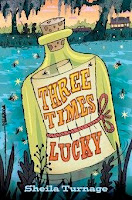 bookcover of THREE TIMES LUCKY by Sheila Turnage