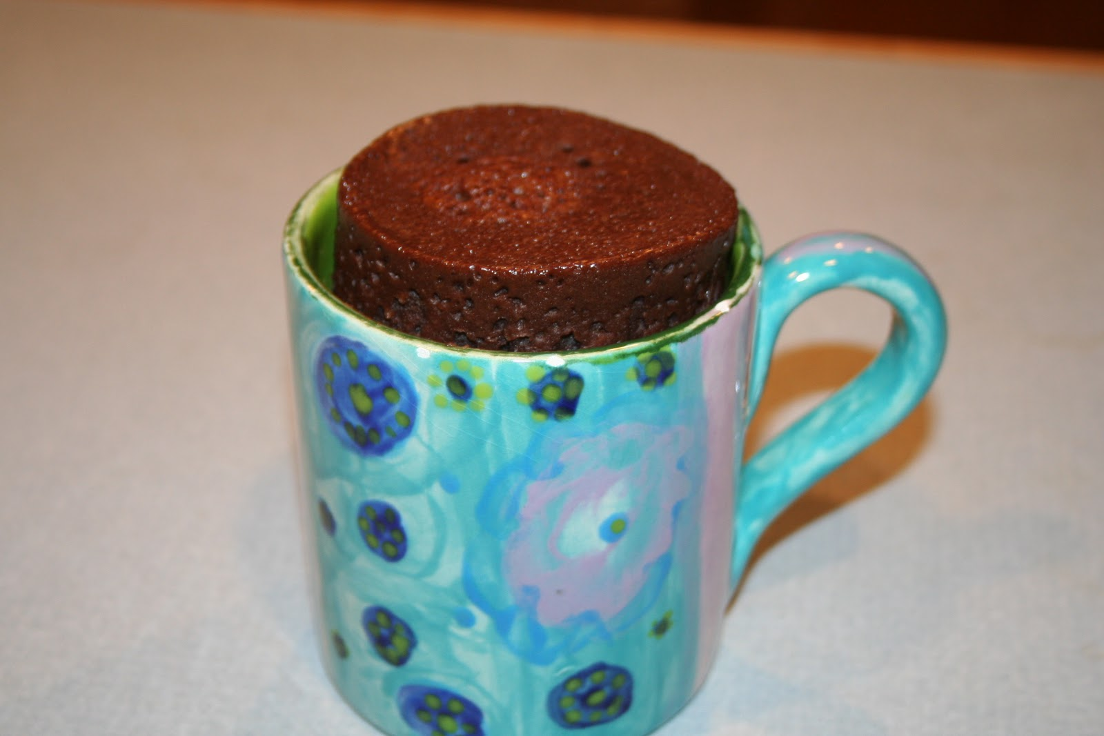 COOK WITH SUSAN: Microwave Chocolate Cake in a Mug