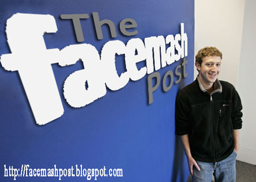 Face, Mash, and Post it. OMG, It's The Facemash Post