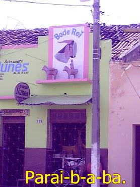 Loja de artesanatos,em Cabaceiras,PB.