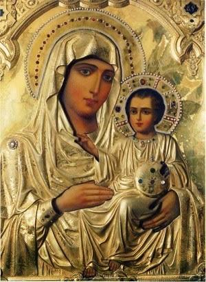 Virgen María: Reina de los Ángeles...