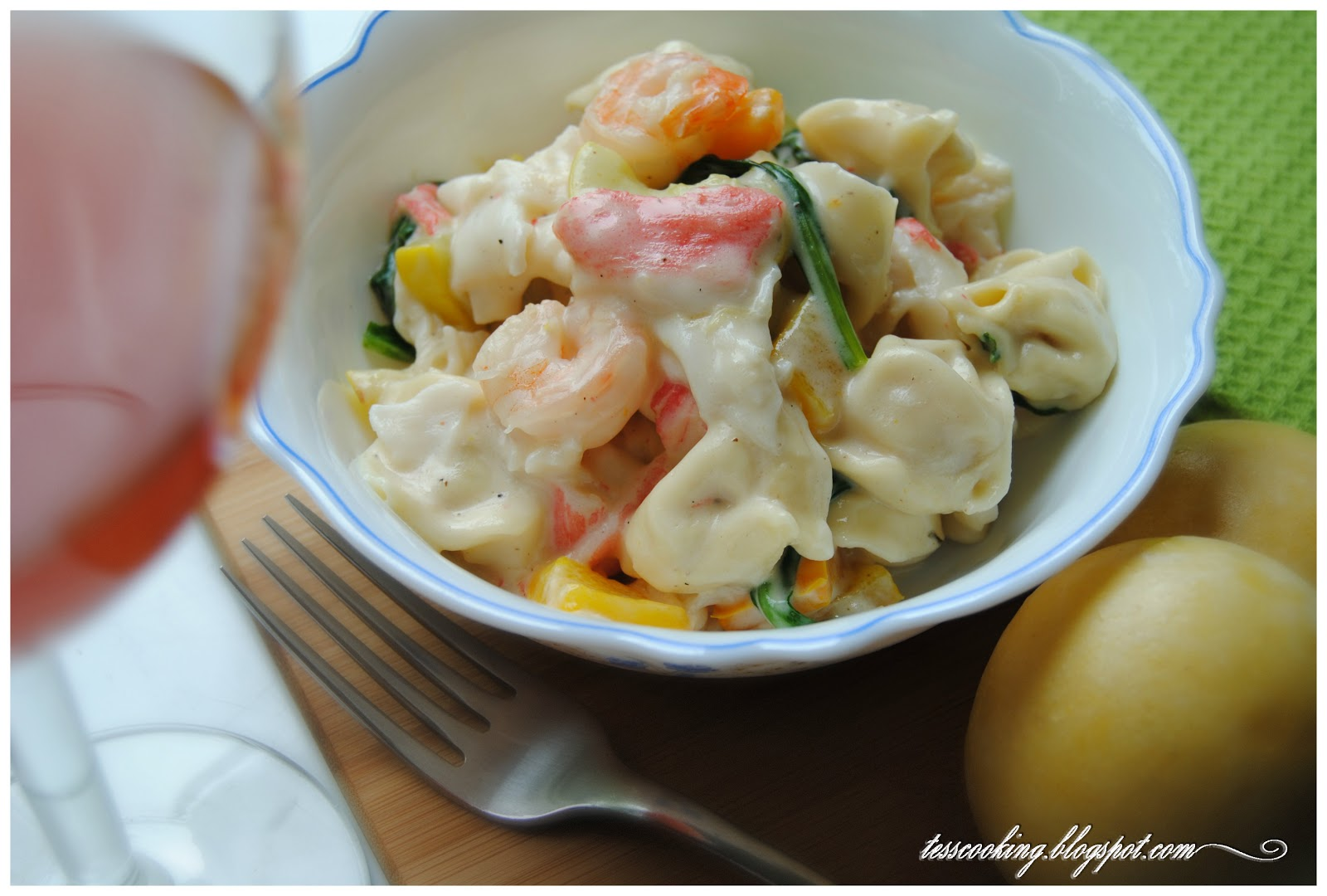how to make white sauce for tortellini