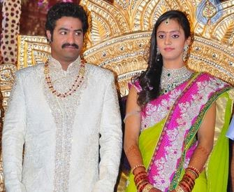 Tollywood Marriages Jr NTR Marriage Photos Wedding Images