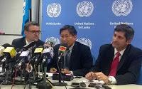 UN visit 'Gota's Camp' mystery torment site in Sri Lanka naval force base