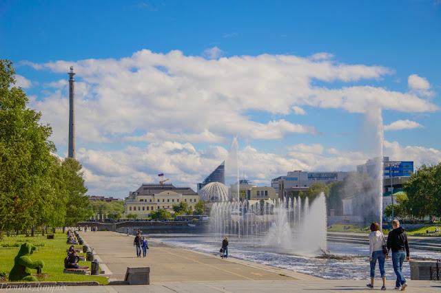 Путешествия: О жизни: Фонтаны Екатеринбург фото