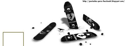 Portadas para Facebook: Portada para facebook de Skate