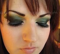 beautiful green makeup look