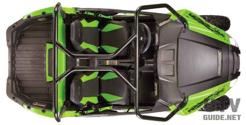 Arctic Cat goes small with new 50-inch Wildcat Trail - UTV Guide
