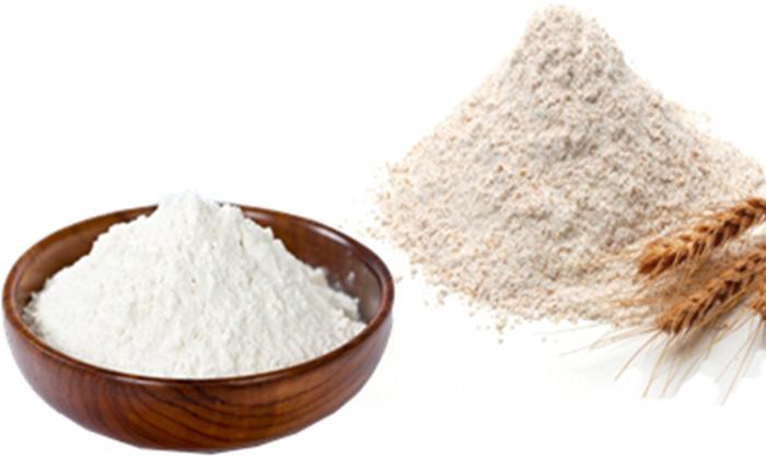 farinha e amido de milho