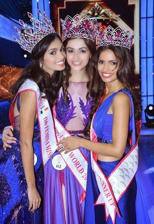 Winners of Femina Miss India 2015