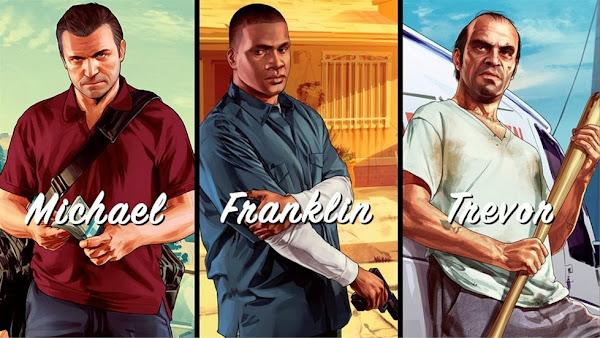 Personajes multiples la decision arriesgada del GTA V