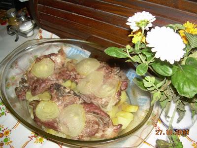 recept, svinjski vrat