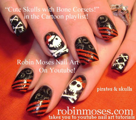 12 2 thanksgiving nail art designs for beginners diy easy fall nails - Nails Diy Easy Halloween For Beginners And Up Halloween Nail Art