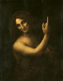 São João Batista, por Leonardo da Vinci