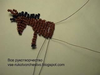 Лошадка из бисера. Пошаговый мастер-класс