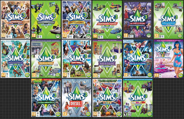 Sims 3 Todas las expansiones [Full/Crack]