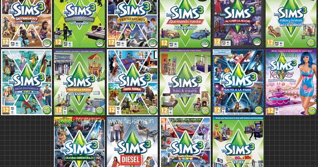 El ba l de las descargas sims 3 todas las expansiones for Todas las descargas