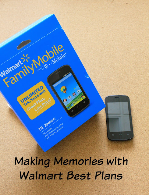 Making Memories With Walmart Best Plans #MobileMemories #ad