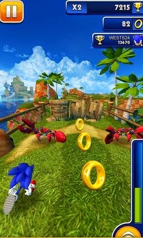 Sonic Dash Go Mod Money v1.17.4 APK For Android by http://jembersantri.blogspot.com Screen Shot