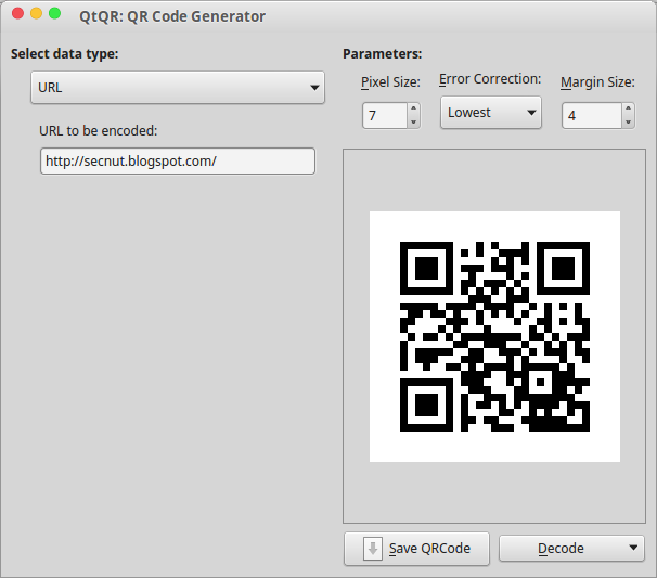 create qr code in linux generate qr code linux