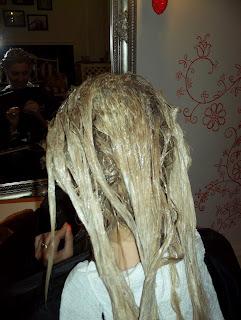átmenetes haj festés
