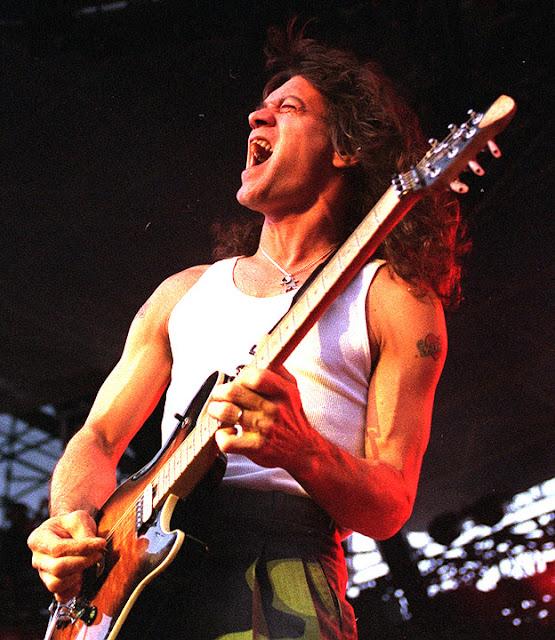 Eddie Van Halen Performs In Park City Utah On July 14 1998 One Week After Our Interview Daily Herald Photo